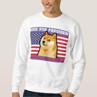 Doge president - doge-shibe-doge dog-cute doge sweatshirt