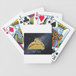 doge space taco meme bicycle playing cards