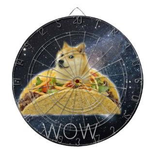 doge space taco meme dartboard