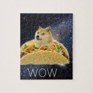 doge space taco meme jigsaw puzzle