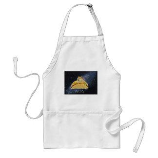 doge space taco meme standard apron