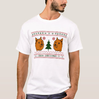 Doge Such Christmas T-Shirt