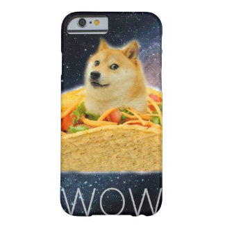 Doge taco - doge-shibe-doge dog-cute doge barely there iPhone 6 case
