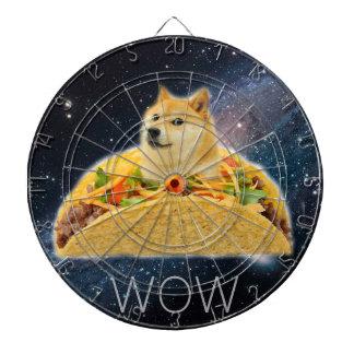 Doge taco - doge-shibe-doge dog-cute doge dartboard