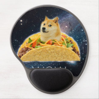 Doge taco - doge-shibe-doge dog-cute doge gel mouse pad