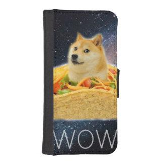 Doge taco - doge-shibe-doge dog-cute doge iPhone SE/5/5s wallet case