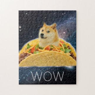 Doge taco - doge-shibe-doge dog-cute doge jigsaw puzzle