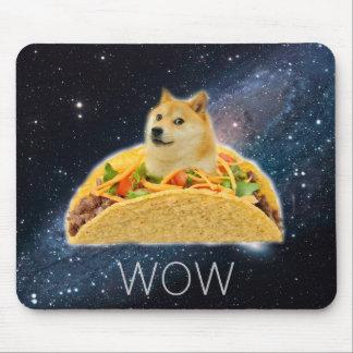 Doge taco - doge-shibe-doge dog-cute doge mouse pad