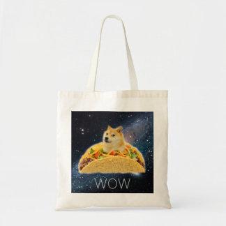 Doge taco - doge-shibe-doge dog-cute doge tote bag