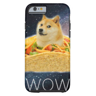 Doge taco - doge-shibe-doge dog-cute doge tough iPhone 6 case