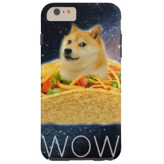 Doge taco - doge-shibe-doge dog-cute doge tough iPhone 6 plus case