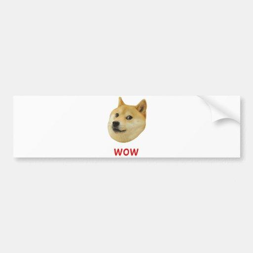 Doge très wow beaucoup de chien un tel Shiba Shibe Autocollants Pour Voiture