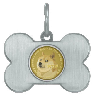 Dogecoin accessories- The Chatty Shiba Inu Pet Tag