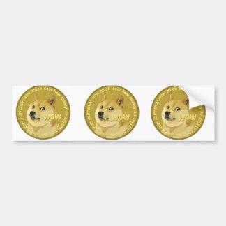 Dogecoin Bumper Sticker
