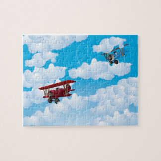 Dogfight Jigsaw Puzzle