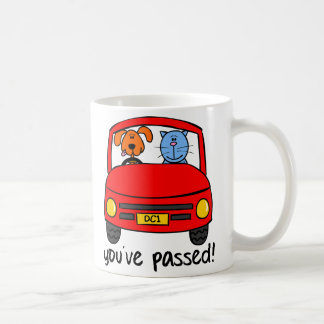 Dogg & Catt Passed Your Test Mug