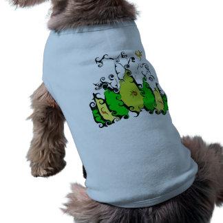 Doggee a nervuré le débardeur avec la conception manteaux pour chien