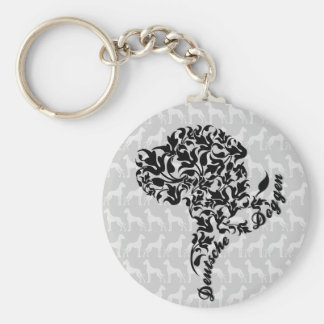 Doggen decay key supporters keychain