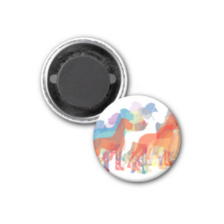 Doggen group 1 inch round magnet