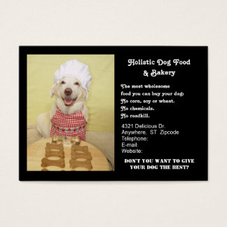 Doggie Bakery Business Card