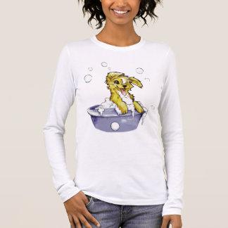 Doggie Bubble Bath Long Sleeve T-Shirt