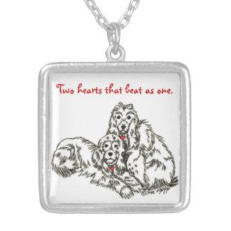 """Doggie Couple"" Necklace"