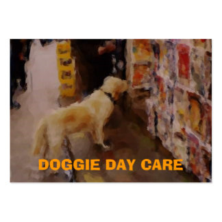 DOGGIE DAY CARE - Business Card