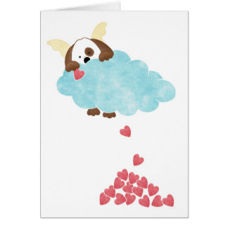 Doggie Heaven Greeting Card
