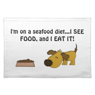Doggie Humor-Cute Puppy Placemat