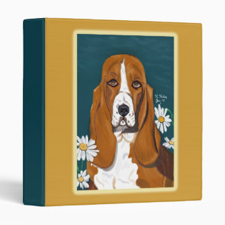 Doggie in the Daisies binder