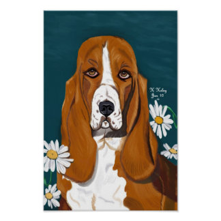 Doggie in the Daisies poster