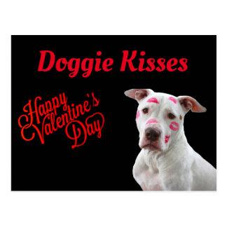 Doggie Kisses Postcard