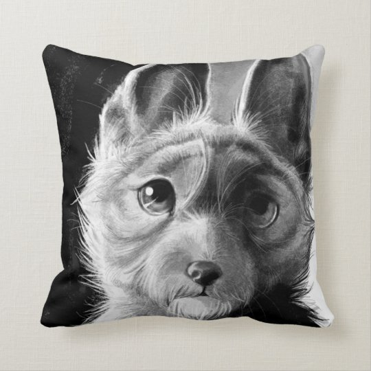 Doggie Portrait Pillow