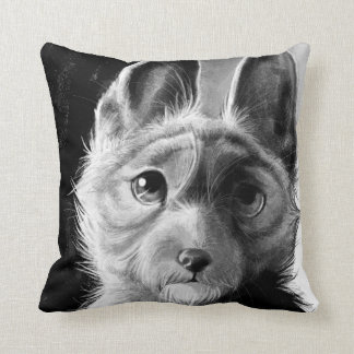 Doggie Portrait Pillow