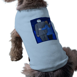Doggie Ribbed Tank Top BERNIE N JANE LOVE Dog T Shirt
