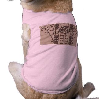 Doggie Ribbed Tank Top IRONWORK SCROLLWORK 2 Pet Tee