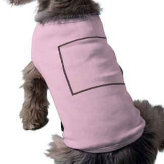 Doggie Ribbed Tank Top Pet Tee Shirt