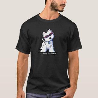 Doggles Westie Dark Basic T-Shirt