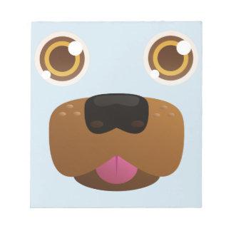 Doggo blep notepad