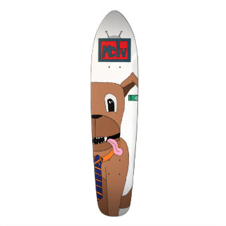 Doggo Skateboard (Nickel) Deck