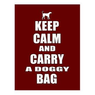 Doggy Bag Postcard