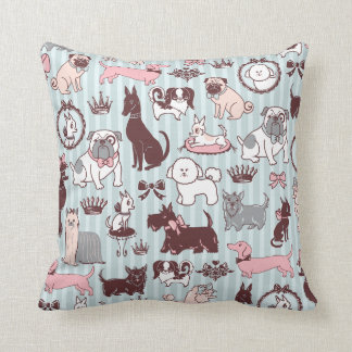 Doggy Boudoir Pillow by Fluff