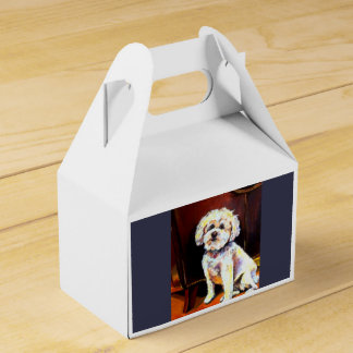 Doggy box party favor box