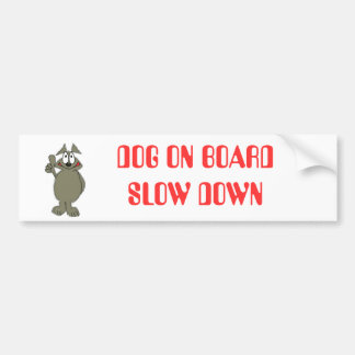 Doggy Bumber sticker