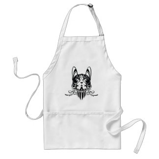 doggy dog puppy design aprons