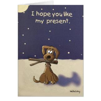 Doggy Gift Card
