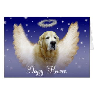 Doggy Heaven Greeting Cards