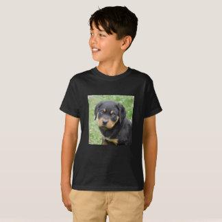 Doggy McDogface Rottweiler Puppy T-Shirt