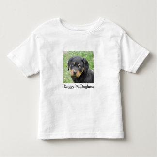 Doggy McDogface Rottweiler Puppy Toddler T-shirt