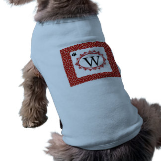 Doggy Monogram W Shirt